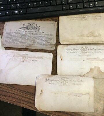 Antique Stereoviews Lot of Five