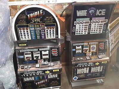 Igt S2000 Reel Slot With Coin Payout $650 White Ice Or Triple Strike Mn Only