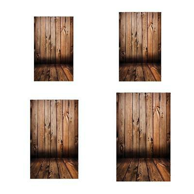 Wood Plank Flower Backdrop Photo Background Photography Studio Cloth Props Decor