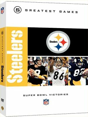 Pittsburgh Steelers Greatest Games 5 Super Bowls Dvd