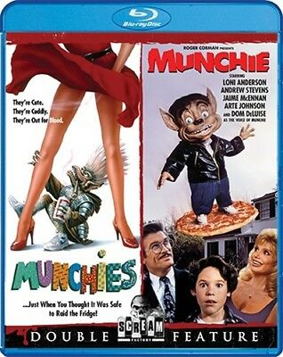 MUNCHIES + MUNCHIE New Sealed Blu-ray Double Feature