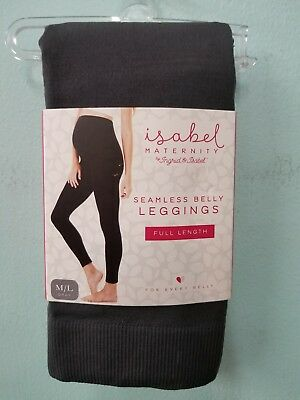 isabel maternity seamless belly leggings