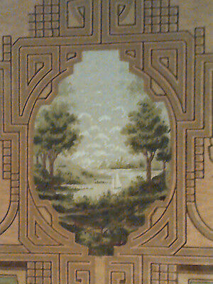 Fine Sample of Arts & Crafts, Mission Era Wallpaper: Hudson River Scenic