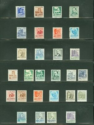 EDW1949SELL : MEXICO Beautiful all VF MOG collection of ALL DIFF. Scott Cat $396