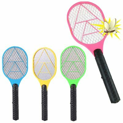 Powerful High-voltage Electric Fly Mosquito Swatter / Racket Bug Zapper Killer
