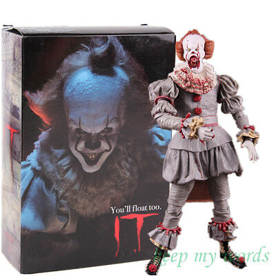 NECA horror movie pennywise it 2017 clown ghost monster PVC action figure toy
