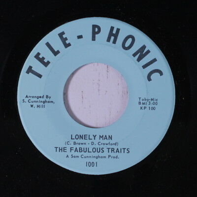 FABULOUS TRAITS: Lonely Man / Love Is Strange 45 (Sweet Soul with a funky Soul