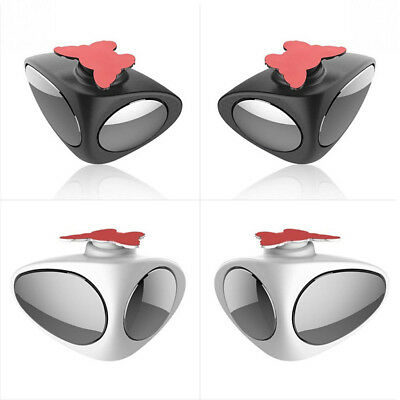 Adjustable 360° Blind Spot Mirror Wide Angle Rear View For Vehicle Car Truck