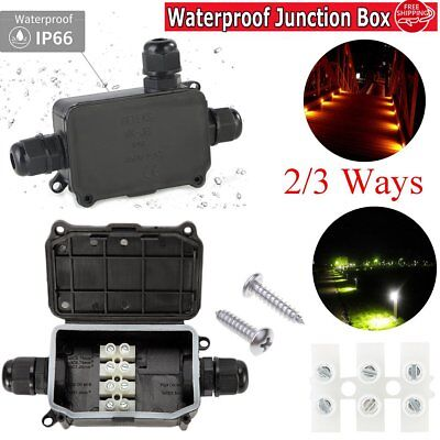 Outdoor Light Waterproof IP66 Underground cable connector junction box durable