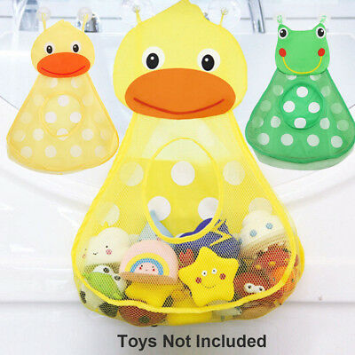 Cups Bathroom Organizer Baby Shower Storage Net Holder Bath Toys Mesh Bag