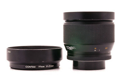 """Zeiss Planar 1,2/85mm T* """"50 Jahre"""" Contax/Yashica SHP36940"""
