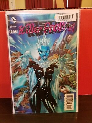 Justice League of America 7.2 3D Cover | NM | Killer Frost | DC