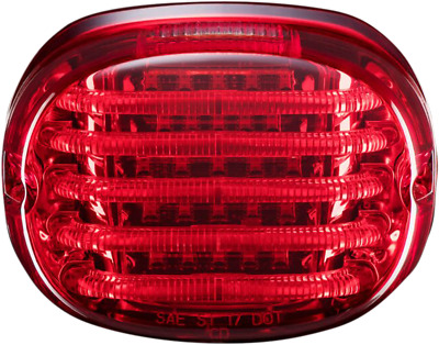 Custom Dynamics Probeam Red LED Squarback Taillight for 99-19 Harley Davidson