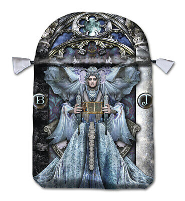 ILLUMINATI POUCH Satin Drawstring Bag for Tarot Cards Card Deck