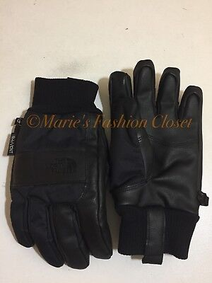 "Small - S Youth/Jr North Face ""Work"" Etip Waterproof Insulated Ski Gloves Black"