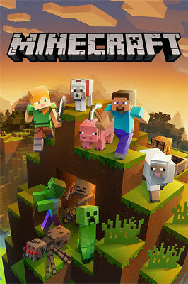 Microsoft 44Z-00130 Minecraft Master Collection - Puzzle Game - Xbox One