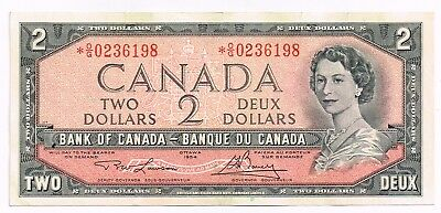1954 (1973-75) CANADA TWO DOLLARS REPLACEMENT NOTE - p76d