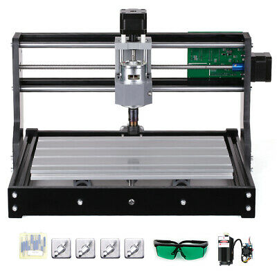5500mw CNC3018 DIY Router Kit 2in1 Engraving Machine GRBL Control 3 300x180x45mm