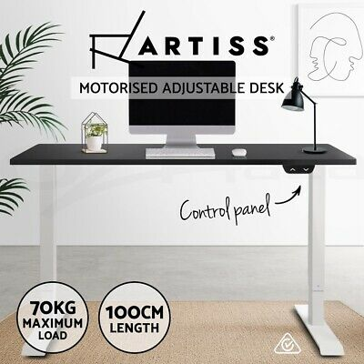 Artiss Standing Desk Height Adjustable Sit Stand Motorised Electric Frame Riser