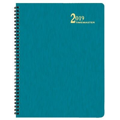 2019 Turq Shimmer Lg Time Master Planner, Monthly Planners by Payne Publishers