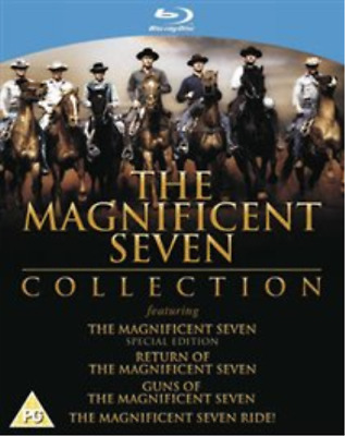 Yul Brynner, Steve McQueen-Magnificent Seven Collection Blu-ray NEW