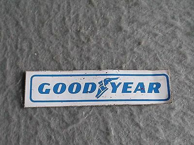 GOODYEAR TIRES DECAL VINTAGE 1970s Motorsports Sticker Auto Racing