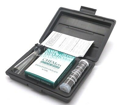 New Chemetrics K-7540 Dissolved Oxygen Test Kit K7540