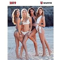 CALENDRIER WURTH 2018 et 2019 NEUF COLLECTOR !!