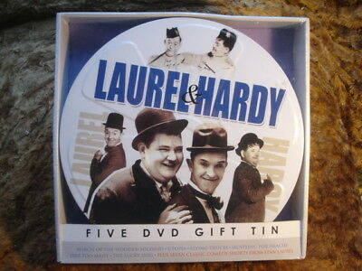 Laurel & Hardy: 5 Dvd Gift Tin. New/sealed. 2015.dvd