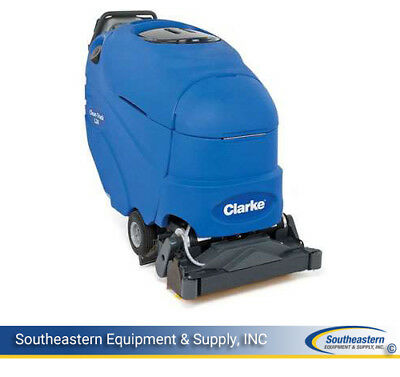 New Clarke Clean Track L24 Self-Contained Carpet Extractor