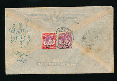 Malaysia-Straits Settlements Brief 1947 aus Taiping   (H13)