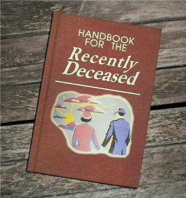 BLANK BOOK - Drawing Art- Handbook for the Recently Deceased BEETLEJUICE w flyer