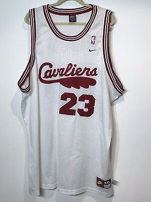 separation shoes f0182 6a03f CLEVELAND CAVALIERS NIKE Lebron James Mens 4X Jersey 23 Stitched Big & Tall
