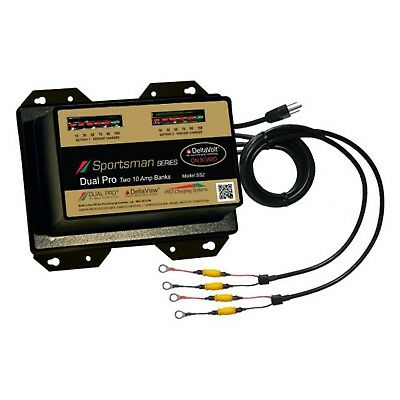 DPCSS2 Dual Pro SS2 Battery Charger 2 Bank 20 Amps