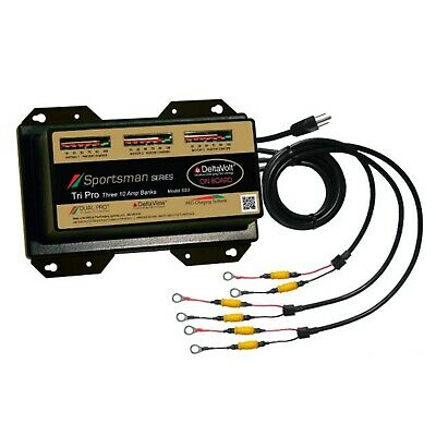 DPCSS3 Dual Pro SS3 Battery Charger 3 Bank 30 Amps