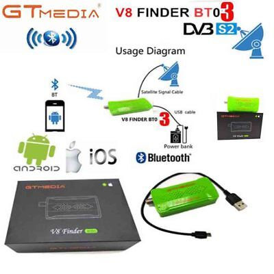 GTmedia Satellite Signal Finder Meter HD DVB-S2 bluetooth android i os SatFinder