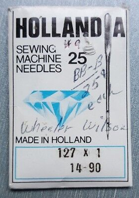 127X1(Or Boye # 18) 13 Sewing Machine Needles Fits Wheeler Wilson No 9  Machines