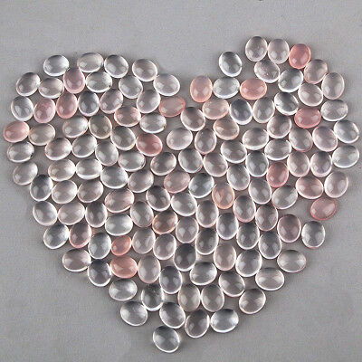 507 Cts/130 Pcs Untreated Natural Rose Quarz Beautiful Pink Gemstones Wholesale