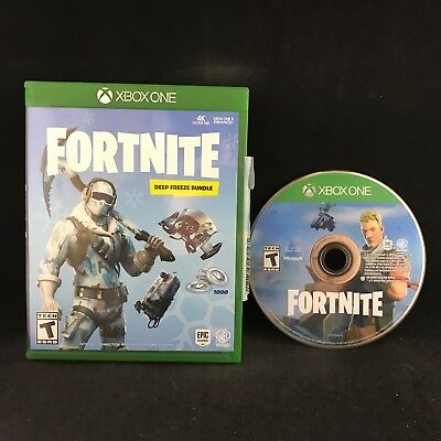 Fortnite Deep Freeze Bundle (Xbox One) US Version *NO DLC CONTENTS*