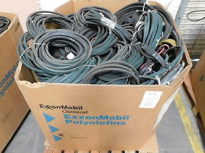 Lot of 640 Lbs Gates Wholesale Lot of Industrial Belts for Commerical Use T12949
