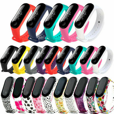Silicone Bracelet Strap Wristband Wrist Band Replacement For Xiaomi Mi Band 3 F#