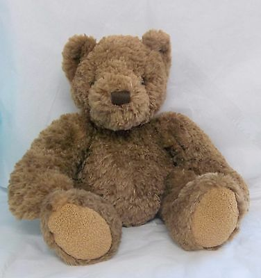 "Dex Womb / Heartbeat 14"" Brown Crib Bear - Soothing For Baby Euc! Cute! Cr"