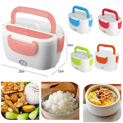 Multi-function Portable Electric Heating Lunch Box Food Heater Container Office