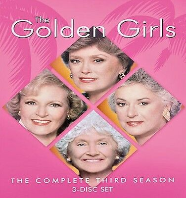 THE GOLDEN GIRLS The Complete Third Season BRAND NEW FACTORY SEALED
