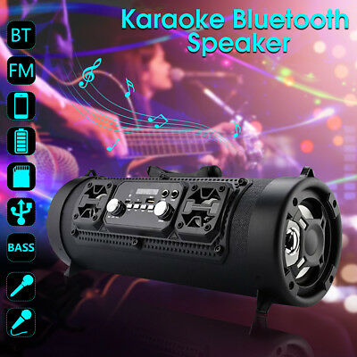MECO 20W Portable Wireless Bluetooth Speaker AUX TF USB Heavy Bass