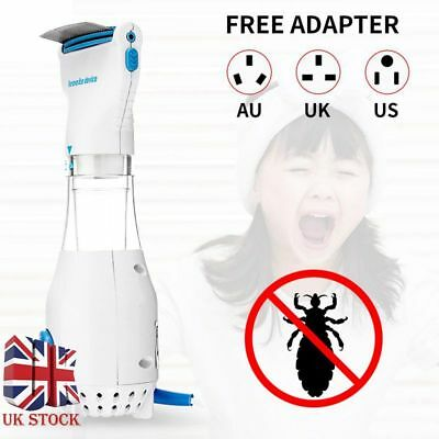 Chemical Electric Electronic Head Lice nit Comb new Detects & Kills Headlice UK