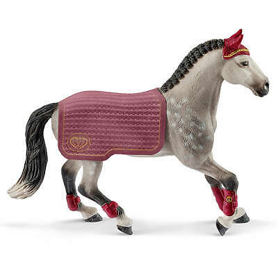 42456 Schleich Trakehner Mare Riding Tournament Horse Club Plastic Figure