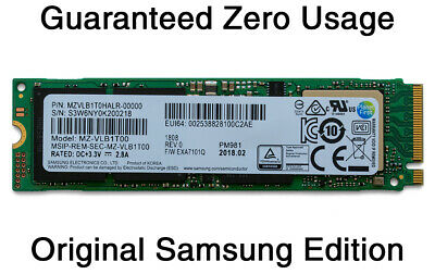 NEW 1TB Samsung PM981 PCIe 3.0 x4 NVMe M.2 SSD Solid State Drive MZ-VLB1T00