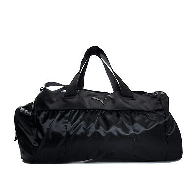 b4d2bc60a40913 PUMA WOMENS ACTIVE Training Sports Duffle Bag in Black - One Size ...