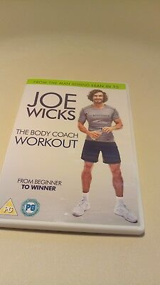 Joe Wicks The Body Coach Workout Video Fitness Home DVD FILM FITNESS new year